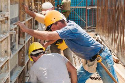 Цены на строительные работы в Украине за первые девять месяцев 2018 года