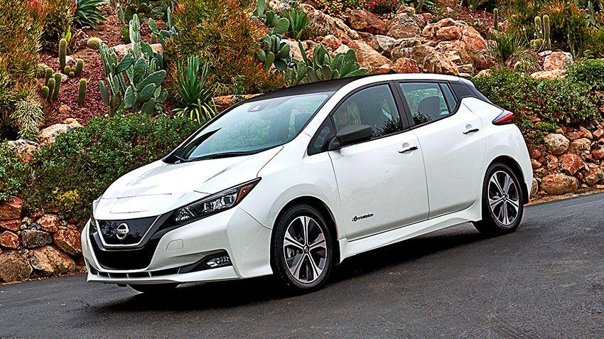 Рост спроса на электромобили. Nissan Leaf ждёт официальных продаж в Украине.