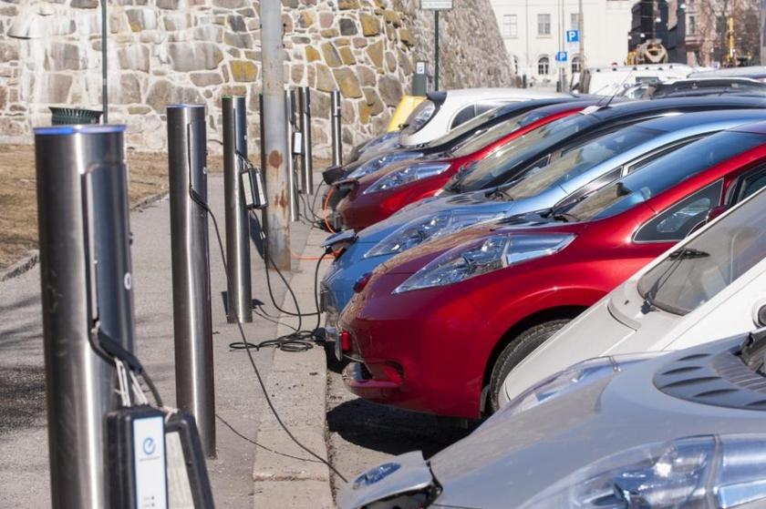 Апрельский рост украинского автопарка электромобилей.
